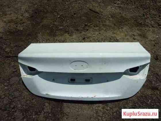 Hyundai Solaris 2 крышка багажника белая Брянск