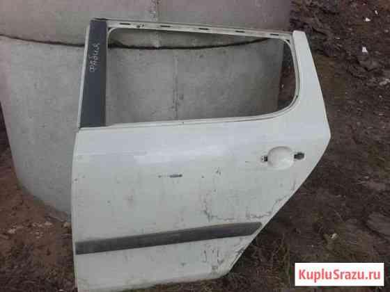 Skoda Fabia 2 до рестайлинг дверь задняя левая Самара