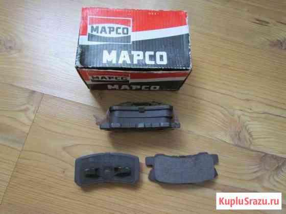 Тормозные колодки Марсо 6752 и задние HI-Q SP1187 Елец