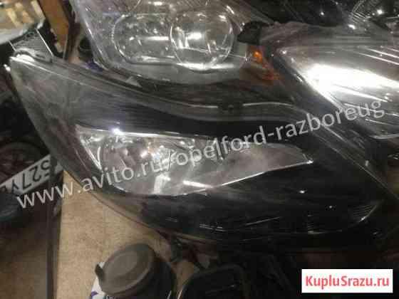 Фара передняя правая чёрная Форд фокус 3 Краснодар