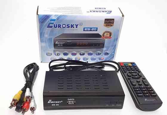 Цифровая приставка DVB-T2 Eurosky ES-20 Красногвардейское