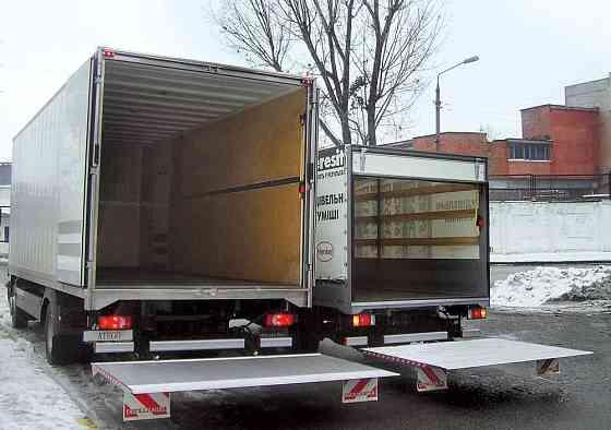 Грузоперевозки 3, 5, 7 тонн. Аппарель Новосибирск