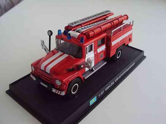 Автомобиль Зил 130-431410 Kazakhstan пожарная машина (1964) Липецк