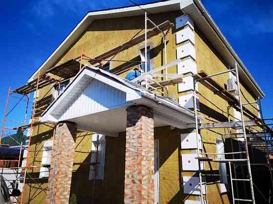 Утепление фасадов частных домов минеральной ватой Ростов-на-Дону