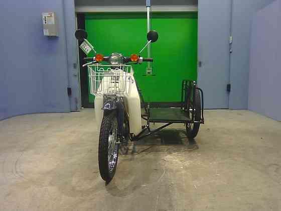 Мотоцикл дорожный Honda C50 Super Cub Sidecar рама C50 с коляской передняя корзина гв 1994 Москва