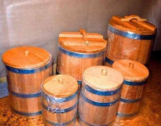 Кадка дубовая для засолки купить Москва