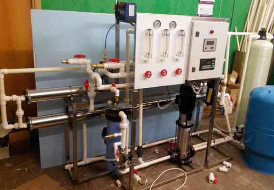 Мембранная установка очистки воды «РосАква-М» Москва