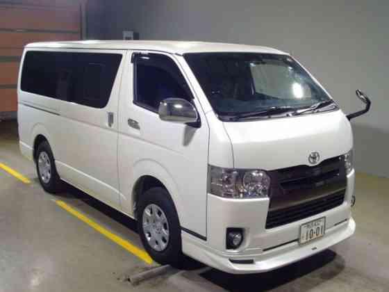 Грузопассажирский микроавтобус Toyota Hiace Van гв 2019 салон 5 мест груз 1 тн 4WD Москва