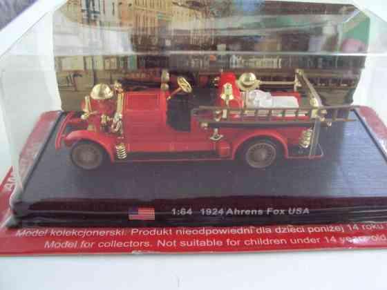 Автомобиль 1924 Ahrens пожарная машина FOX USA Москва
