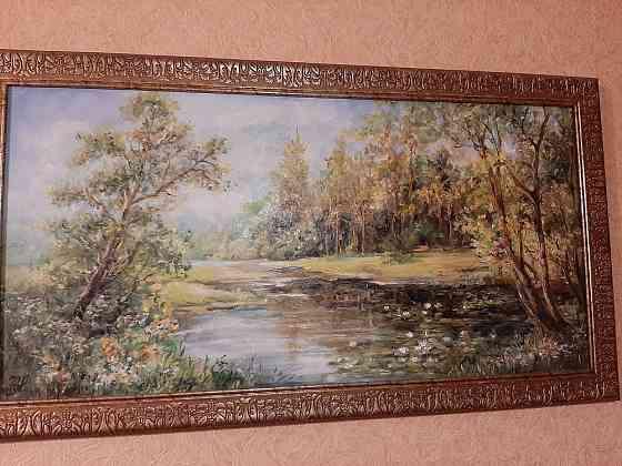 """Красивая картина"""" Озеро с лиликпасями"""" Санкт-Петербург"""