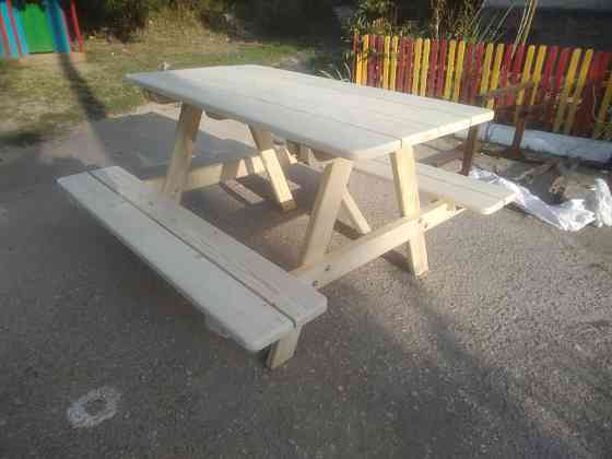Стол с лавочками для сада и дачи Севастополь