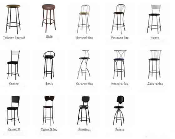 Классические табуреты, стулья барные Санкт-Петербург
