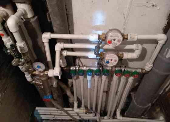 Замена труб водоснабжения в Москве. Водоканалсбыт Москва
