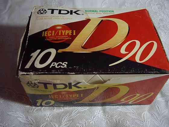 Аудиокассеты TDK Производство Япония Челябинск