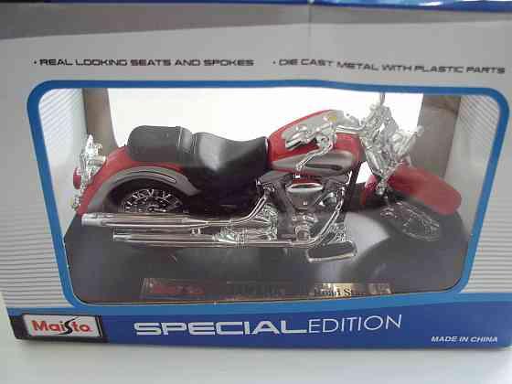 Мотоцикл Maisto YAMAHA 2001 Road Star Липецк