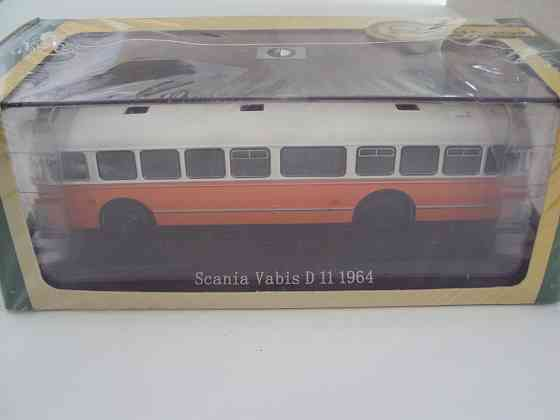 Автобус Scania Vabis D11 1964 Липецк