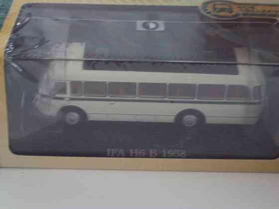 Автобус IFA H6 B 1958 Липецк