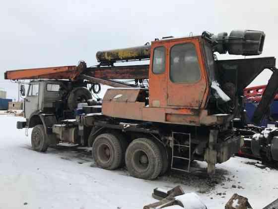 Установка сваебойная УГМК-12 на базе КамАЗ-53228, 6х6.б/у Санкт-Петербург