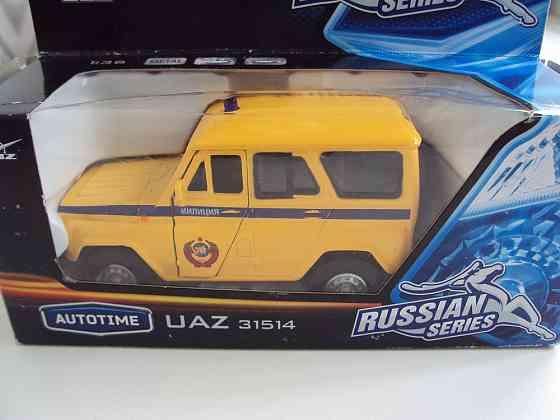Автормобиль Уаз 31514 Милиция Липецк