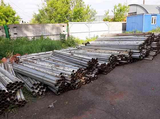 Бу трубы для столбов и металлоконструкций Уфа