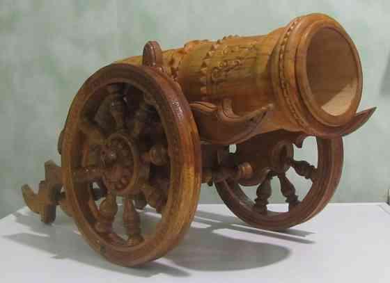 Пушка деревянная Грибановский