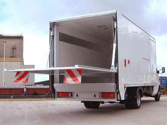 Услуги грузового автомобиля с гидробортом Краснодар