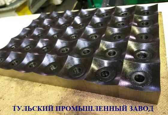 Тульский Промышленный Завод предоставляет услуги изготовления ножей для дробилок в Москве Екатеринбург