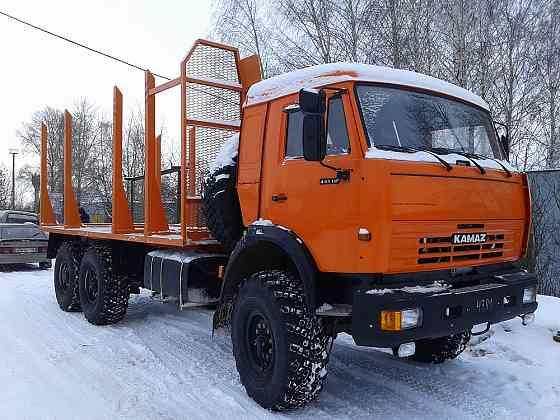 КАМАЗ 43118 сортиментовоз Евро-2 Новый Архангельск