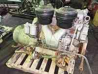 Судовой двигатель ЯАЗ-204В и реверс-редуктор СРРП-50 с хранения Новосибирск