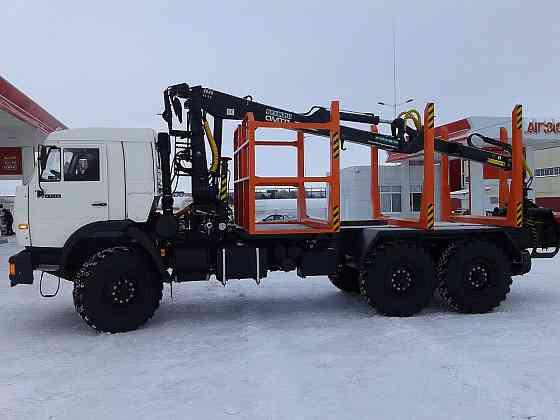 КАМАЗ 43118 сортиментовоз c гидроманипулятором Хабаровск