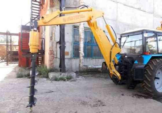 Буровое оборудование Drd-5 (Англия) на экскаваторы ЭО-2626, Дэм, Амкодор, МТЗ Москва