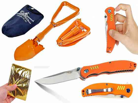 Мужской спасательный оранжевый набор Брянск