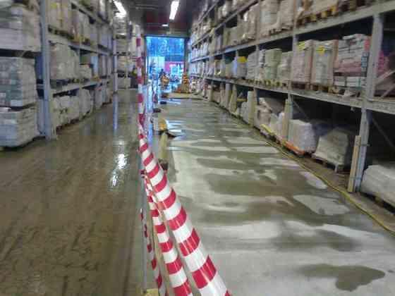 Укладка и ремонт бетонных и полимерных полов в Москве и МО Москва