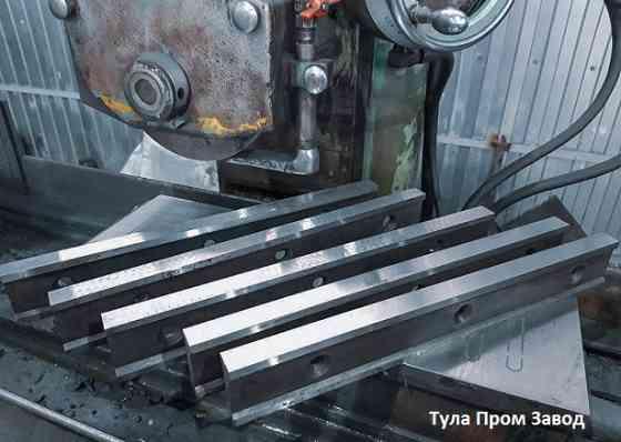 Завод производитель ножей для гильотин Н3118 с размером 590 60 16мм на заводе производителе. Ножи ги Казань