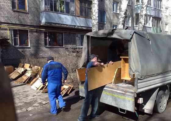 Вывоз мусора газелью с погрузкой Нижний Новгород Нижний Новгород