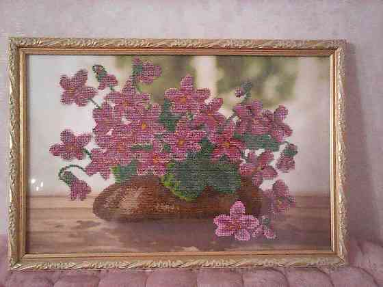 Картина вышитая бисером Валуйки