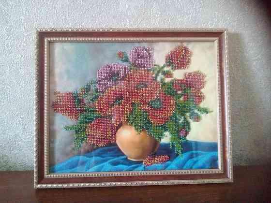 Картины вышитые бисером Валуйки