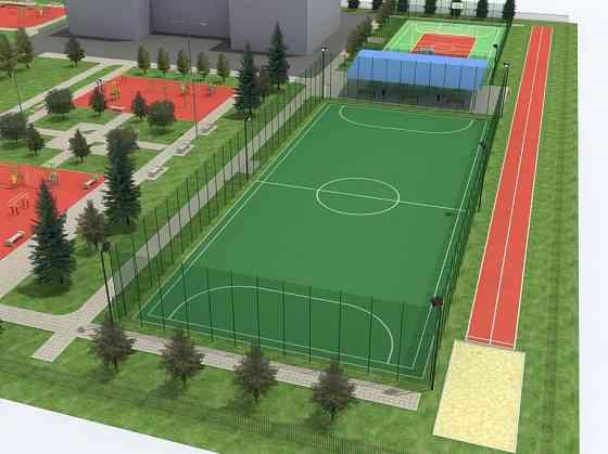 Сервисное обслуживание футбольного поля с искусственным травяным покрытием Владивосток