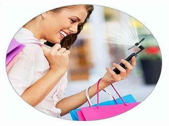 Мини-вентилятор 3 в 1 для Android, iPad, iPhone Брянск