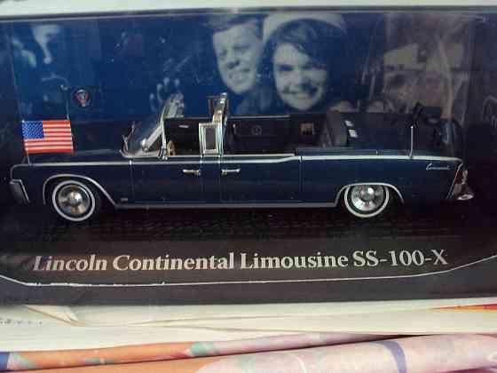 Lincoln Continental Limousine SS-100-X Липецк