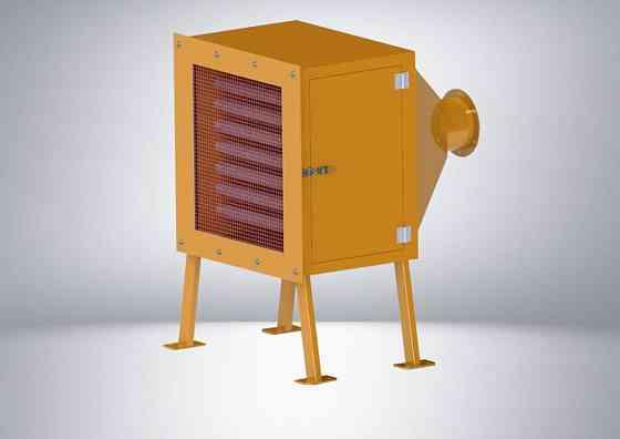 Канальный нагреватель, оборудование для утилизации пластмасс Назрань